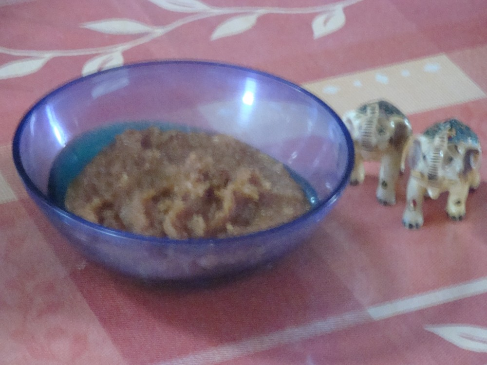 Home Sweet Home Series - 1/Badam (almonds)/Cashew Halwa (2/2)